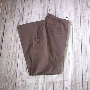 GAP The Perfect Khaki Pants Stretch Size 16XL pink